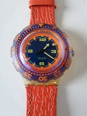 SWATCH Scuba 200 Red Island orologio