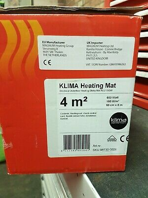 Electric Underfloor Heating mat kit 150w per m2 All Sizes available Pro Elite
