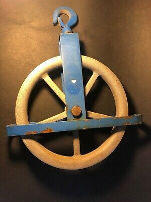 3/4 Ton Vintage 12'' Well / Barn Pulley FREE SHIPPING
