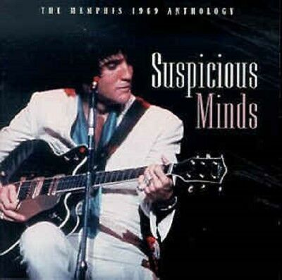As New! Elvis Presley Suspicious Minds The Memphis 1969 Anthology 2 CDs 44 songs