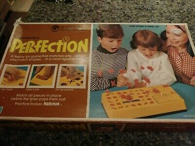 Vintage Perfection Game With Original Box 1973 Lakeside GREAT Condition!