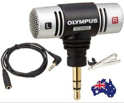 Genuine Olympus ME51S Compact Stereo Microphone with Clip AUSSIE SELLER