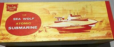 Vintage Sutcliffe Sea Wolf * Atomic Submarine * Ovp * Made In England