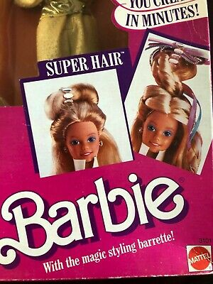 Barbie Doll, Style Super Hair, Styling Barrette, Mattel # 3101 Retired 1986, NIB