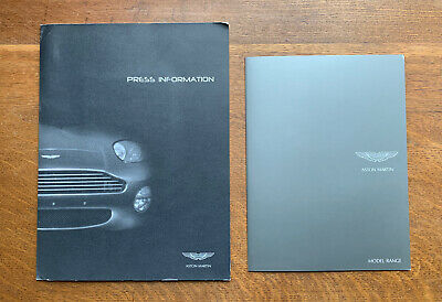 Collection Of Aston Martin Advertising Materials - 2000 And 2008