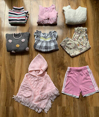 Baby Girl Clothes Bundle Toddler Joblot Adidas Matalan Noa Noa Age 12-18 Months