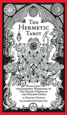 The Hermetic Tarot 78 Cards Deck + 70 Page Instruction Booklet - NEW!