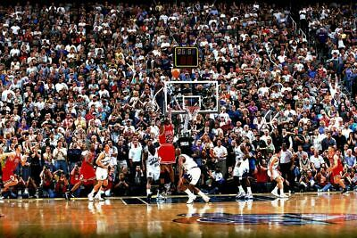 MICHAEL JORDAN THE SHOT NBA BASKETBALL Poster 24 x 36 inch 1