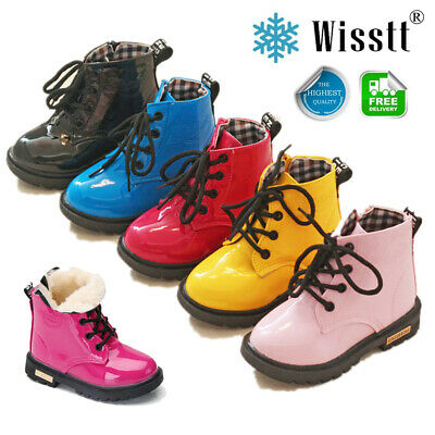 Toddler Baby Boys Girl Children Warm Martin Sneaker Boots Kids Baby Casual Shoes