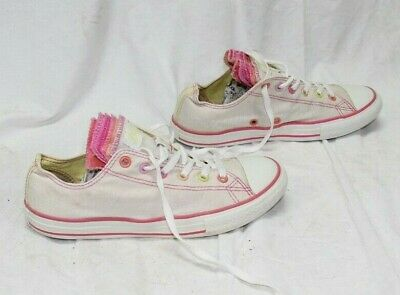 CONVERSE ALL STAR Junior Bianco Panna Basse EUR 37 UK 4 US4.5 (COD.DPS209)
