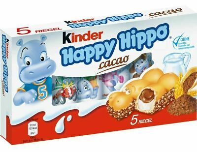 KINDER Happy Hippo Cacao 5er  Chocolate Candy From Germany