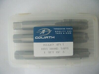 M6 X 1 DIE NUTS GOLIATH HSS HEX ALL BRAND NEW IN BOXES TO GO!