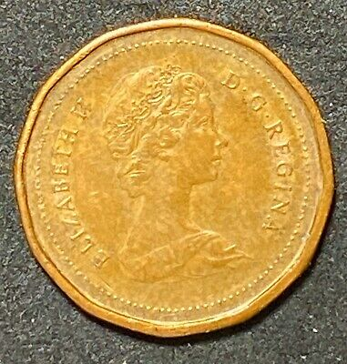 1983 Canada One Cent Circulated Canadian Coin  (1650)