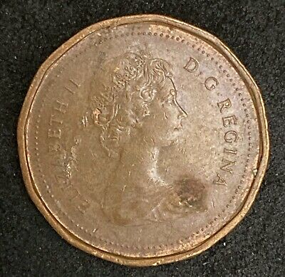 1983 Canada One Cent Circulated Canadian Coin  (1651)