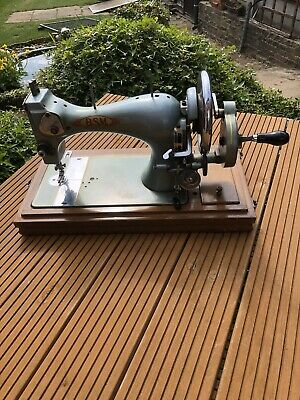 Bsm Sewing Machine Manufactured By Vickers The Spitfire Manufacturer