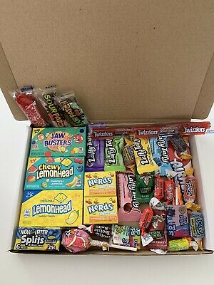 American Sweets Gift Box - USA Candy Hamper - Jolly Rancher - Present