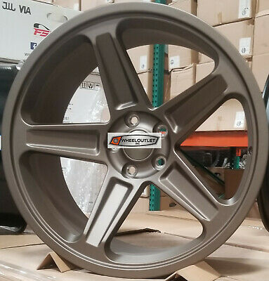 20 Staggered Rims Bronze Demon Style Wheels Fit Dodge Challenger Charger SRT
