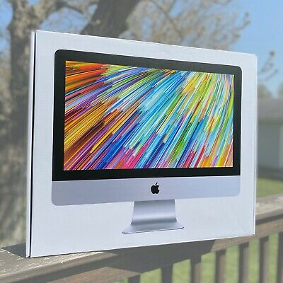 """Includes Styrofoam Inserts CLEAN EMPTY BOX for 21.5"""" APPLE iMac"""