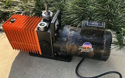 Alcatel 2008A Vacuum Pump with Franklin Electric 1/2 HP Motor Annecy