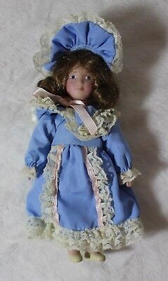 "7"" American Girl Doll Nellie's Adorable Doll "" Lydia "" Porcelain Hard To Find"
