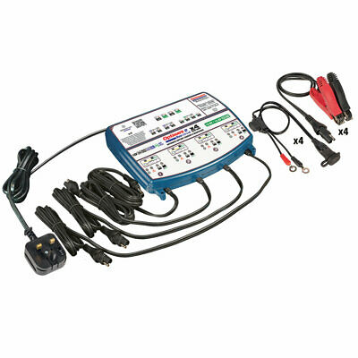 OptiMate 3 Quad Battery Charger & Conditioner UK Supplier Warranty 2020 NEW