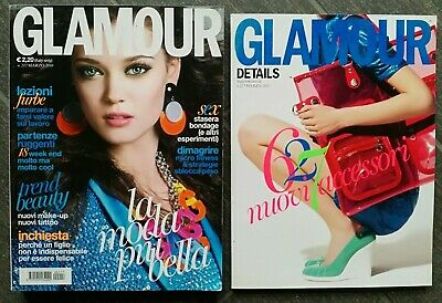 GLAMOUR marzo 2010 + GLAMOUR DETAILS