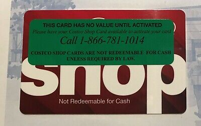 $300 Costco Shop Gift Card - No Membership Required - No Expiration