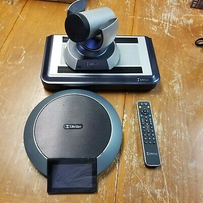 LifeSize Team 220 Express HD Video Conferencing System w/ Camera/Mics/Phone