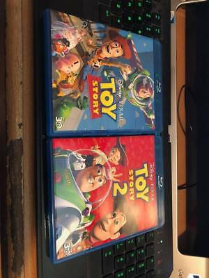 Toy Story 1 and 2(3D ONLY)!!FREE FAST SHIPPING!!!!!