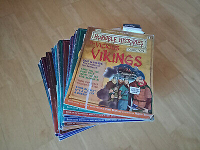 Horrible Histories Terrible Time Timeline Collection 75 Comics *Acceptable Cond*