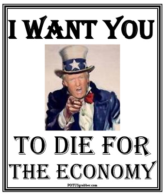 anti Trump: UNCLE SAM- I WANT YOU...ver. 2  humorous political bumper sticker