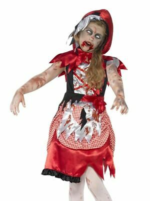 Girls Zombie Princess Costume Dorothy Red Riding Fairytale Halloween Fancy Dress