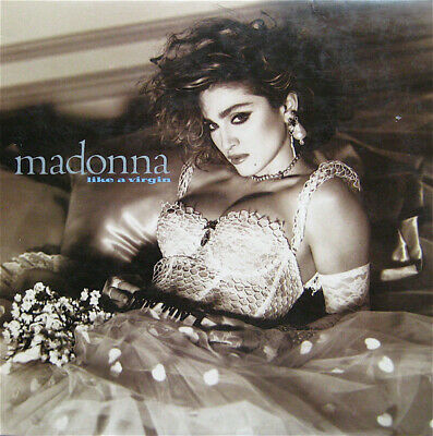 MADONNA Like A Virgin LP VINYL 9 Track Limited Edition Clear Vinyl With Inner