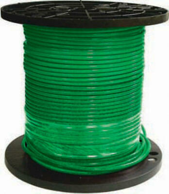 NEW Southwire SIMpull 500-ft 6-AWG Stranded Green Copper THHN Wire 600V 75A