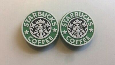 Awesome Starbucks Logo For Crocs Shoe Charm  Set Of Two