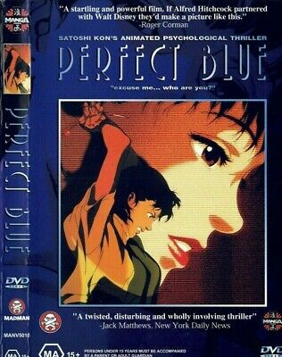 H573 Hot Perfect Blue Japanese Anime Classic Comic Movie Poster Wall Silk Art
