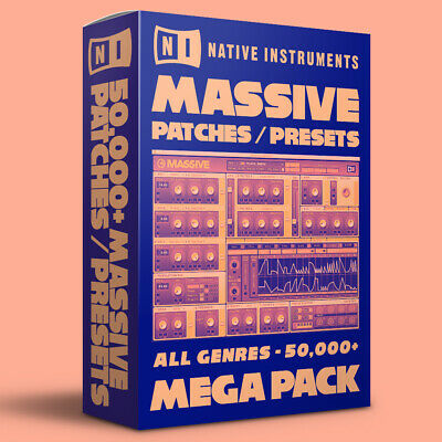 50,000+ Native Instruments Massive Patches / Presets Bundle - ALL GENRES