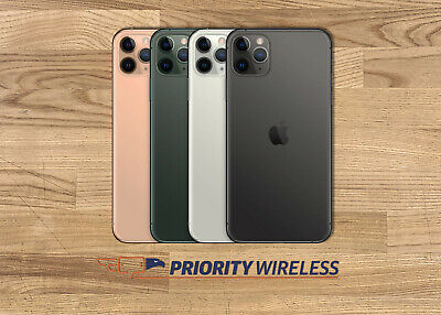 Apple iPhone 11 Pro Max A2161 64/256/512GB AT&T C Spire Factory Unlocked