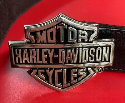 Harley Davidson Official Leather Belt with Buckle 38