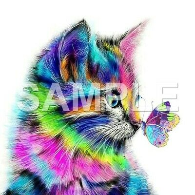 Cat sublimation or color iron on transfer (choice of 1)
