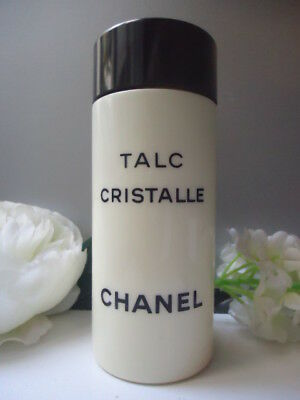 CHANEL Cristalle TALC 150g Rare Beautifully Perfumed Discontinued NEW No Box