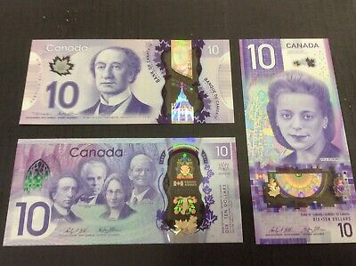 2017 UNC /> Commemorative $20 Bank of Canada P-New Polymer
