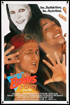 Bill and Ted's Bogus Journey (1991) Original One-Sheet Movie Poster