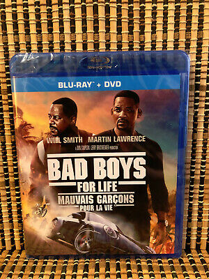 Bad Boys For Life (2-Disc Blu-ray/DVD, 2020)Will Smith/Martin Lawrence.Part 3