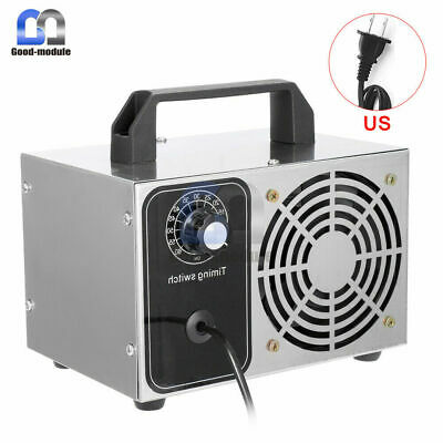 28g/h Ozone Generator Ozone Sterilize Purifier Air Cleaner Disinfection Ozonizer