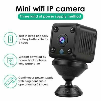 1080P Wireless Camera Security Mini HD Home IP WiFi Vision Cam Smart Night V3G2