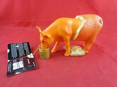 Cow Parade MOOER'S MOOMALADE (# 7717 - RETIRED & RARE) with Tag - no Box