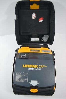 Physio-Control Lifepak CR Plus AED+ New Pads, Battery & Carry Case UK Seller