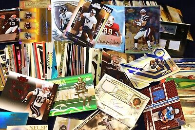 Football Wholesale Lot Rookie Autograph Game Used Jersey Relic Auto Insert HOF