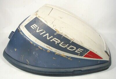 1965 Evinrude 9.5 HP Sportwin Outboard Hood Cover Cowling Assembly